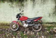 Photo of Motocicleta furtada no Clélia Bernardes é localizada em bairro vizinho