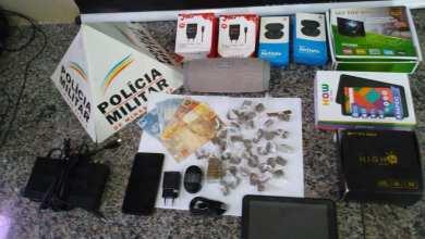 Photo of Foragido da Justiça é preso no Nova Era com drogas e materiais roubados