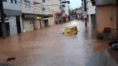 Photo of São Miguel do Anta também é castigada pela chuva; veja fotos e vídeos