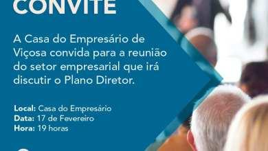 Photo of Casa do Empresário realiza reunião para discutir Plano Diretor nesta segunda-feira