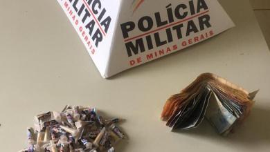 Foto de PM prende homem com 112 pinos de cocaína em Paula Cândido