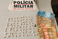 Photo of Duas mulheres e um homem são presos com drogas e dinheiro no São Domingos em Ubá