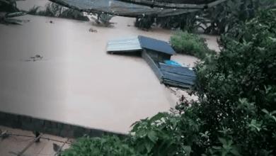 Photo of Após forte chuva em Cajuri, Represa da Usina apresenta risco de rompimento