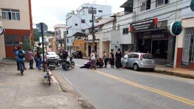 Photo of Pedestre é atropelada por motocicleta no Ramos