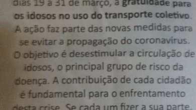 Photo of Prefeitura de Viçosa suspende gratuidade para os idosos no uso do transporte coletivo