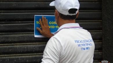 Photo of Quase 30 estabelecimentos são fechados após descumprirem decreto em Ubá
