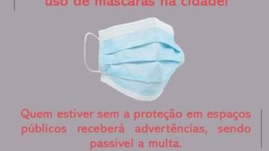 Photo of Câmara aprova a obrigatoriedade do uso de máscaras na cidade