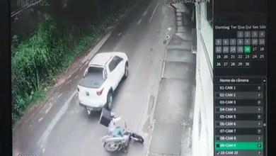 Photo of Colisão entre e carro e moto é registrada próximo ao Tiro de Guerra