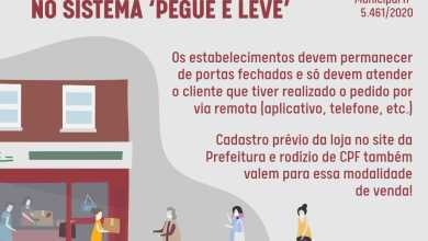 Photo of Decreto autoriza lanchonetes e restaurantes de Viçosa a funcionarem em sistema de retirada