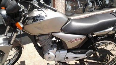 Foto de Motocicleta é roubada em estrada que liga São Miguel do Anta a Canaã
