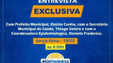 Photo of Prefeito, Secretário de Saúde e Coordenadora Epidemiológica darão entrevista na Rádio Montanhesa Ervália