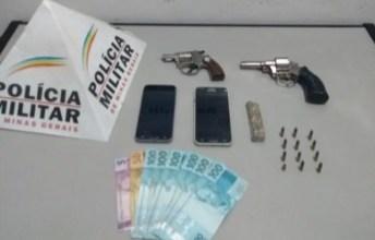 Photo of Homem e mulher são presos com armas e drogas no Cel. Joaquim Lopes em Visconde do Rio Branco