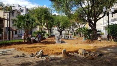 Foto de Prefeitura revitaliza Praça do Rosário em Muriaé