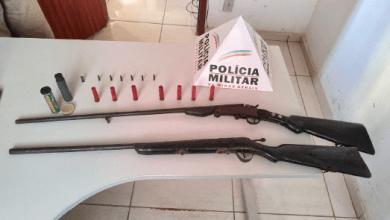 Photo of Homem é preso com armas no lugarejo Derrubada em Paula Cândido