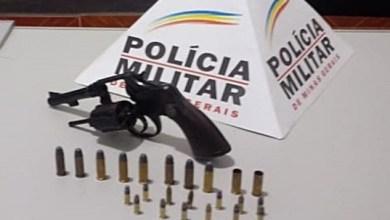 Foto de Mulher é presa com arma em São Miguel do Anta