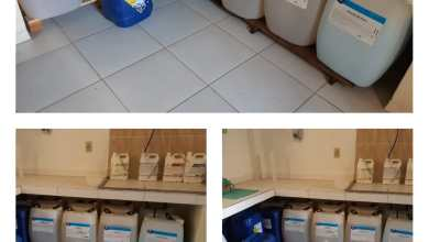 Photo of Projeto Salve Vidas realiza doação de produtos químicos para a lavanderia do Hospital São Sebastião