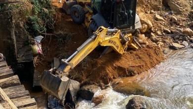 Photo of Nova ponte de acesso à região da Usina da Fumaça é construída em Muriaé