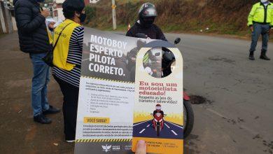 Foto de Blitz educativa aborda motociclistas em Viçosa