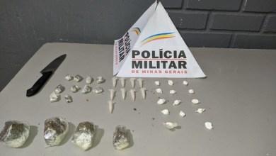 Photo of Jovem é preso por tráfico de drogas e cárcere privado em Muriaé