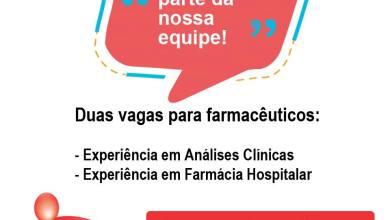 Foto de Hospital São João Batista divulga vagas de emprego