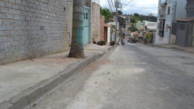 Foto de Concluídas as obras de reconstrução do pavimento e sarjeta na rua Pe. Horácio Borges