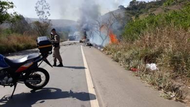 Foto de Homem morre em acidente na rodovia que liga Visconde do Rio Branco a São Geraldo
