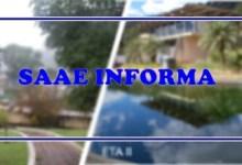 Foto de SAAE realiza manutenção emergencial e abastecimento de água poderá ficar prejudicado hoje (18)
