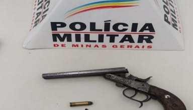 Foto de Após perseguição, PM apreende arma na zona rural de Paula Cândido