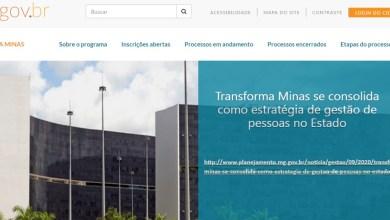 Foto de Transforma Minas abre quatro novas vagas