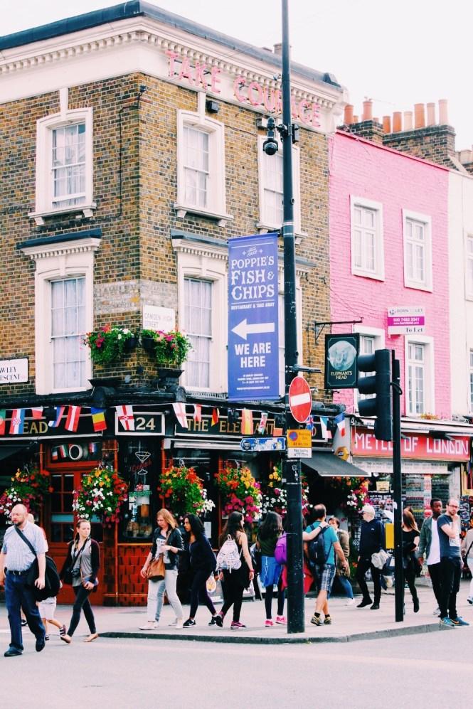 Camden Town: Camden Town, Um Lugar Especial Em Londres
