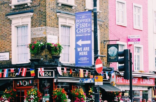Camden Town movimentada