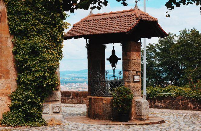 Poço - Castelo em Bamberg