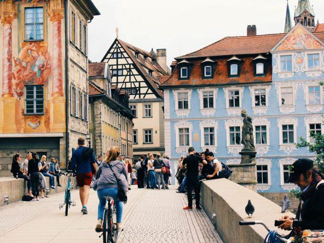 Cidade medieval de Bamberg, na Alemanha