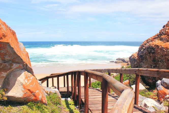 Beach at Robberg Nature Reserve - Plettenberg Bay - South Africa