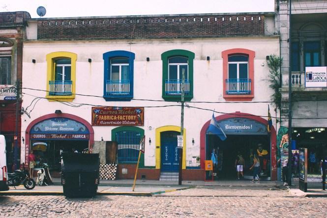 Caminito - Fachada de Casa - Buenos Aires