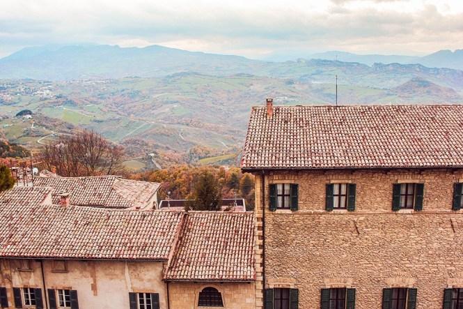 As casinhas de San Marino
