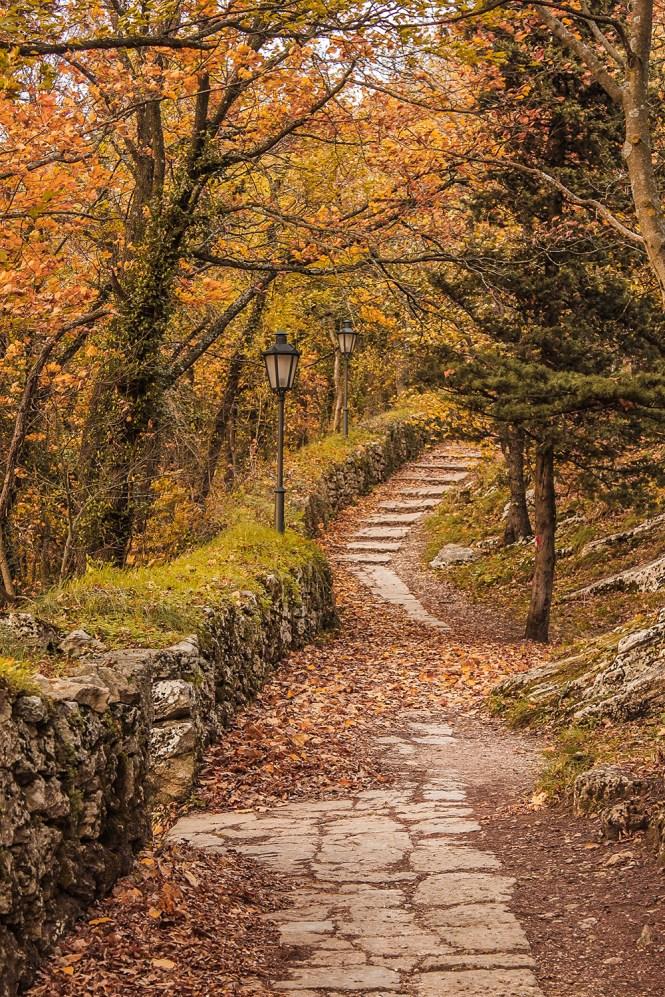 San Marino no outono