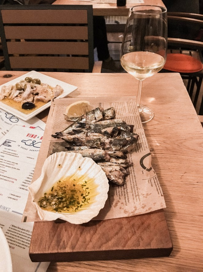 Vino e Ribe - Liubliana - Onde comer
