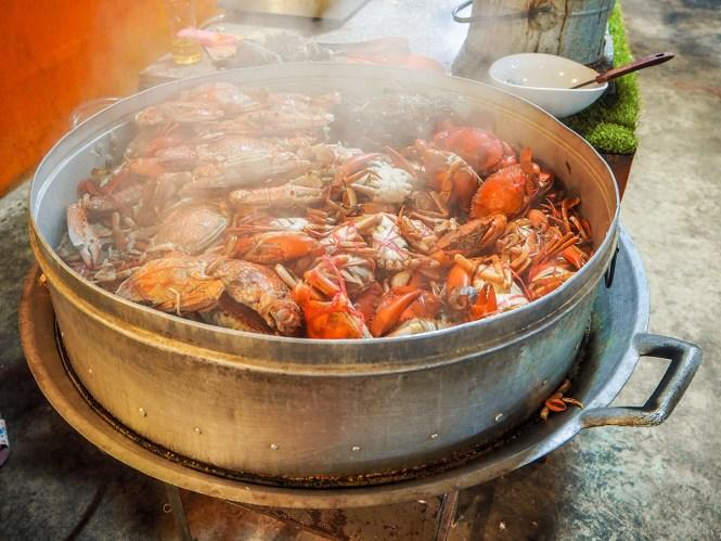 Suvarnabhumi Seafood Buffet - Onde comer em Bangkok