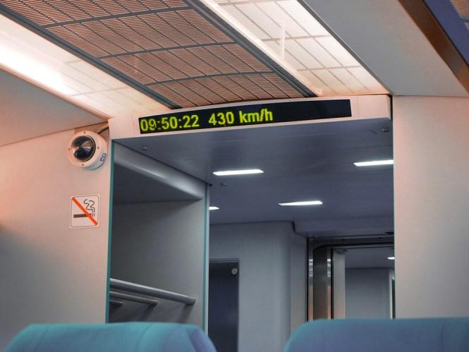 O que fazer em Xangai - trem bala Maglev