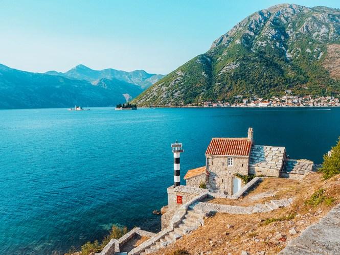 Baía de Kotor, em Montenegro