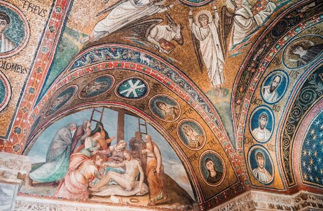 Mosaicos de Ravenna, na Itália
