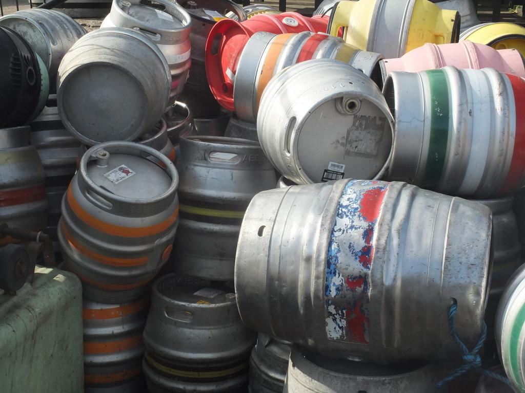 Sheffield Brewery casks