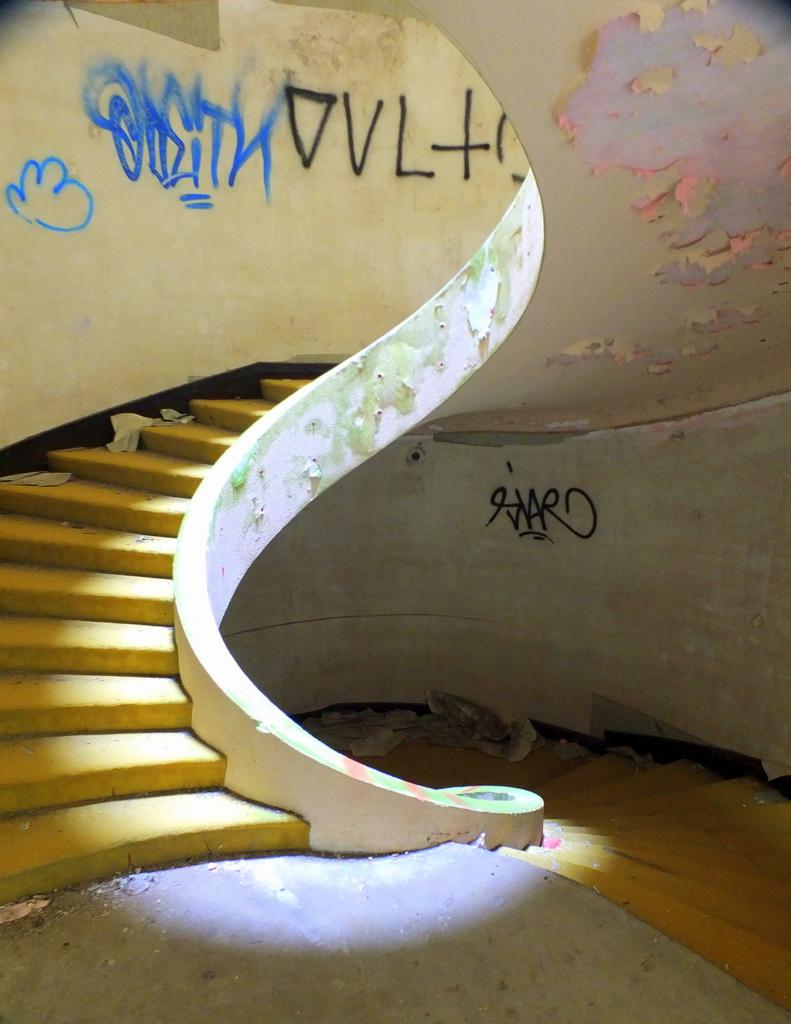 Inside Abandoned Hotel