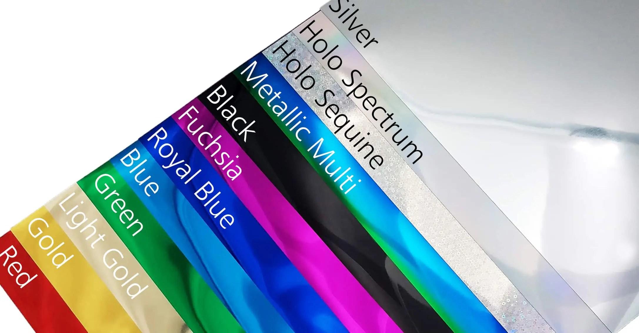 Soft Metallic Htv Starter Pack 14 Sheets Of 10 X12 Heat Transfer Vinyl