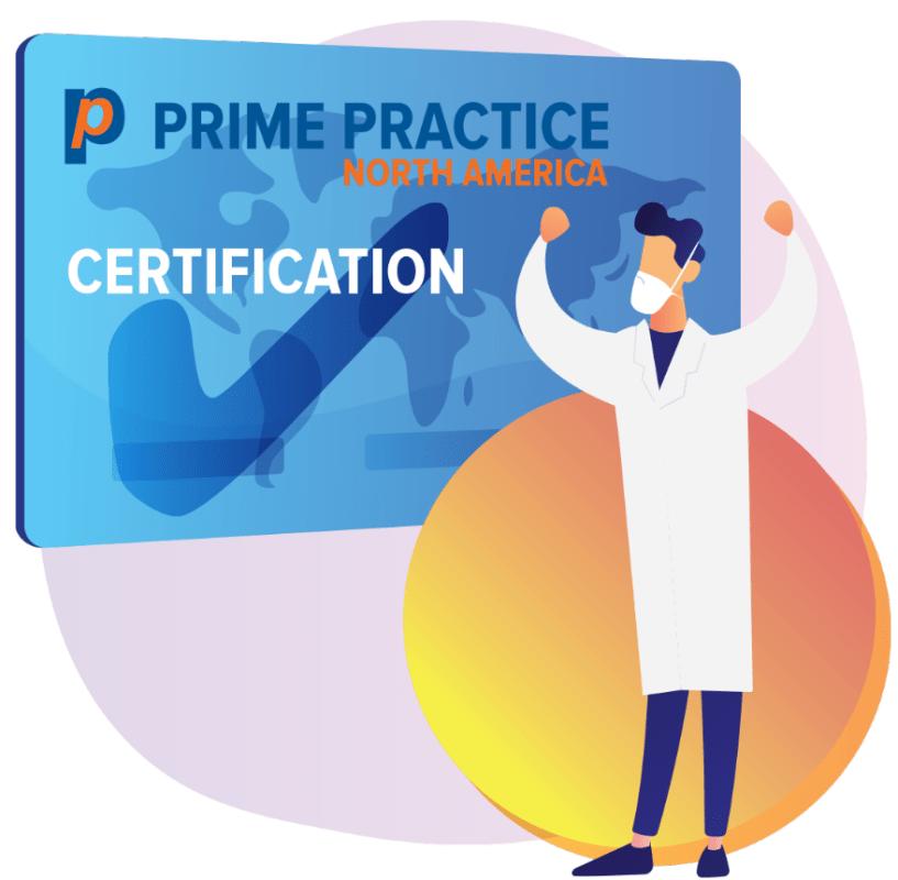 Prime Practice North America Certification