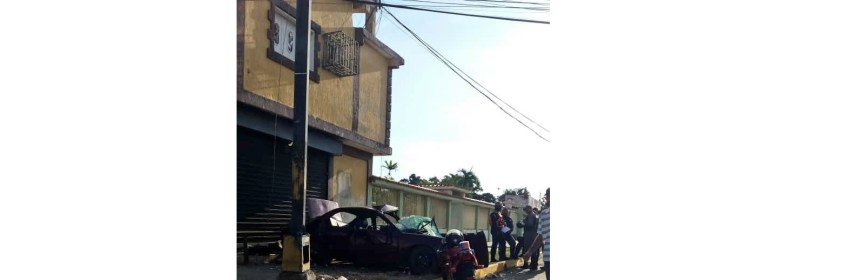 Accidente Ciudad Ojeda