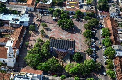 Turismo en Valledupar, Plaza Alfonso  López Pumarejo. Qué hacer en Valledupar para visitar y conocer