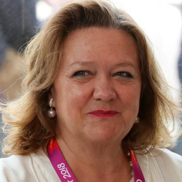 Una de las mujeres más ricas del mundo Gina Rinehart