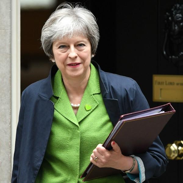 Mujeres más poderosas del mundo en 2019 Theresa May